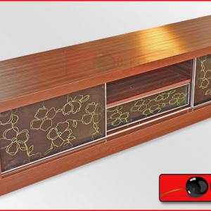 Cappuccino Style LCD Tv Cabinet-37