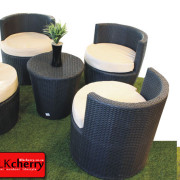 Poly Rattan 4 Seater Stackup-53