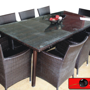 Rattan Dining Table Set 59
