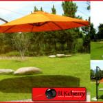 Adjustable Umbrella with Stand-33