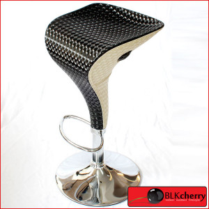 Carbon Black & Cream Bar-Stool-177
