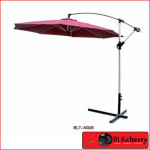 8 Side Canvas Umbrella with Mechanical Stand including marble base-245